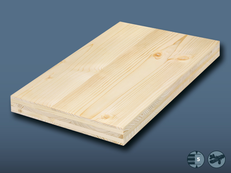 Tilly 5 Layer Softwood Board